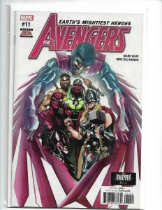 Avengers #11 By Waid Spider-Man Thor Alex Ross Final Issue NM 2017  nw106