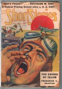 Short Stories 11/25/1940-Sword of Islam-F C Painton-crime-war-G