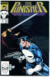 PUNISHER #9, VF, Whilce Portacio, Scott Williams, 1987, more Marvel in store
