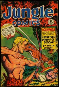 JUNGLE COMICS #118-SPICY COVER-FICTION HOUSE FN