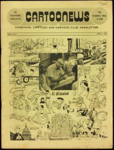 CARTOONEWS #1-1975-HAL FOSTER-DR. SEUSS-very good VG