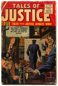 Tales of Justice #61 1956- Atlas Crime Comic- Severin G