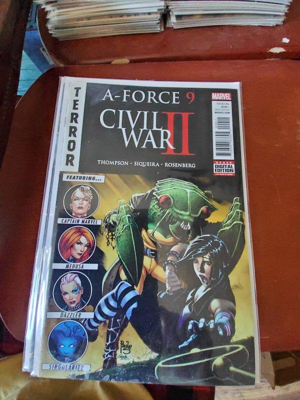 Civil War II: X-Men #9 (2016)