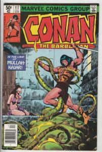 Conan the Barbarian #117 (Dec-80) VF/NM High-Grade Conan the Barbarian