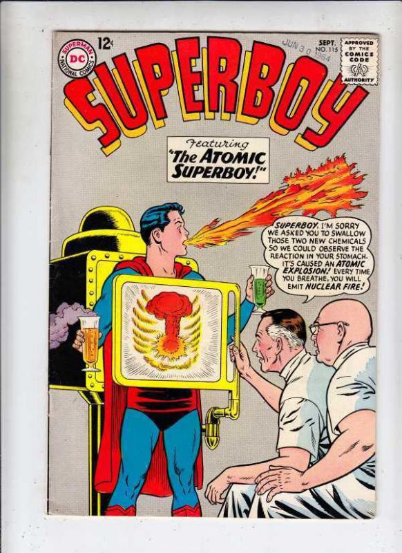 Superboy 115 strict VF/NM 9.0 High-Grade Tons more Legion 40 pct Off BV$111.00