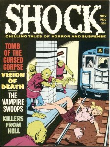 Shock Vol. 2 # 5--1970- Horror Magazine-PRE CODE TYPE STORIES-Zombie-VAMPIRE-WEI