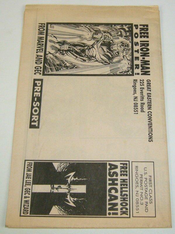 New York Comic Book Spectacular 1994 Newspaper - spider-man - program guide