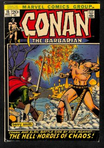 Conan the Barbarian #15 (1972)