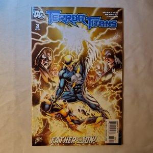 Terror Titans 3 Very Fine/Near MInt Cover by Joe Bennett