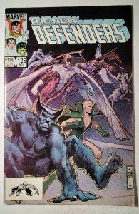 The Defenders #125 (1983) Marvel Comic Book J757