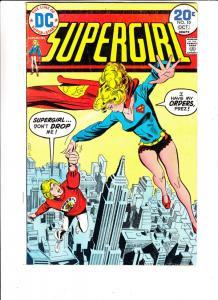 Supergirl #10 (Oct-74) FN Mid-Grade Super Girl (Linda Danvers)