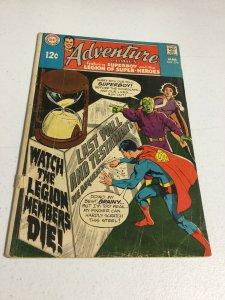 Adventure Comics 378 Vg- Very Good- 3.5 Bottom Staple Detached DC Comics