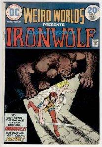 WEIRD WORLDS #9, VG/FN, Iron Wolf, Howard Chaykin, 1972, more in store