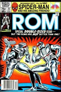 Rom (1979 series) #25, VF- (Stock photo)