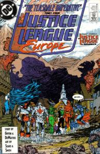 Justice League Europe #8, VF+ (Stock photo)