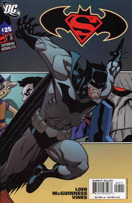 Superman/Batman #25A VF/NM; DC   save on shipping - details inside