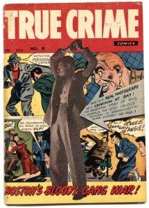 True Crime V. 2 #9 1949-Canadian edition- Rare Golden Age VG