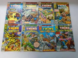Marvel Two in One 48 different from #5-59 avg 4.0 VG (1974-80) incl #52 key!