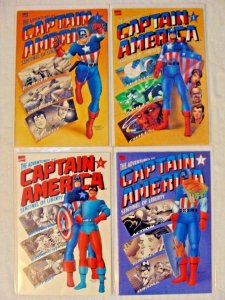 The Adventures of Captain America Sentinel of Liberty #1-4 1 2 3 4 Complete Set