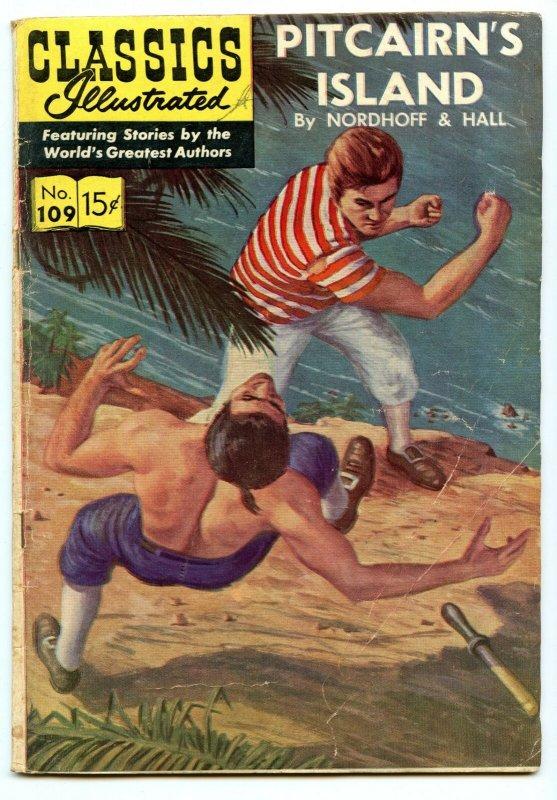 Classics Illustrated 109 (Original) Jul 1953 GD/VG (3.0)