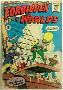 FORBIDDEN WORLDS#118 GD 1964 ACG SILVER AGE COMICS