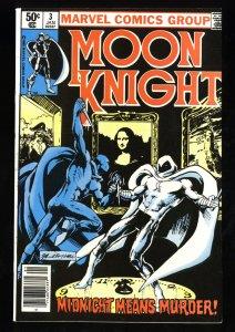 Moon Knight #3 NM- 9.2 1st Midnight Man!