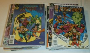 Justice League Task Force #0,1-37 (no 7,14,17) set of 38 comics Priest/Velluto