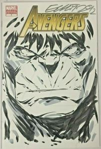 AVENGERS#7 VF/NM 2011 B & W VARIANT MARVEL COMICS