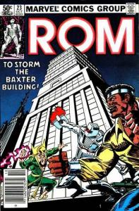 Rom (1979 series) #23, VF+ (Stock photo)
