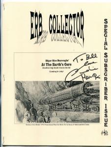 ERB Collector Fanzine #48 2001- Edgar Rice Burroughs- Caroline Munro