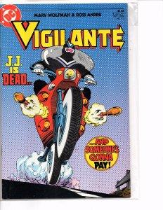 DC Comics Vigilante #10