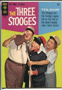 Three Stooges #27 1966-Gold key-photo cover-Foreign Legion-VF MINUS