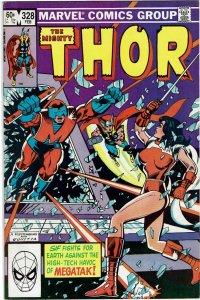 Thor #328 (1966 v1) 1st Megatak NM-