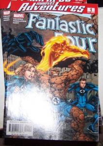 Marvel Adventures Fantastic Four #1 (Aug 2005, Marvel) the thing human torch**