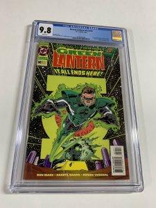 Green Lantern Volume Vol V 3 Issue 50 Cgc 9.8 White Pages