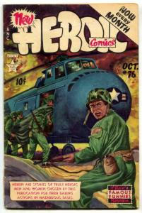 Heroic Comics #76 1952- Famous Funnies G/VG