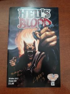 Hell's Blood #4-NM