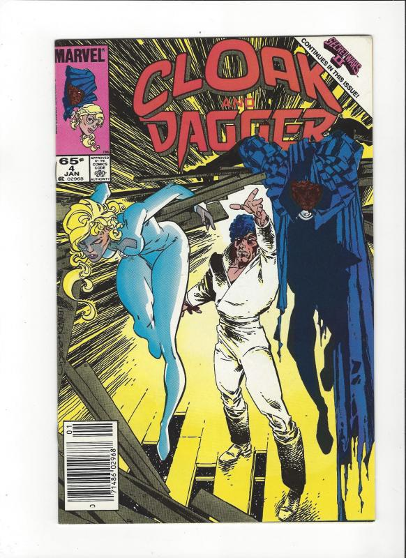 CLOAK AND DAGGER #1-7 SET (VF)  MARVEL COMICS
