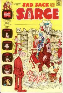 SAD SACK & THE SARGE (1957-1982) 99 FINE Feb. 1972 COMICS BOOK