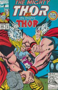 Thor #458 FN; Marvel | save on shipping - details inside