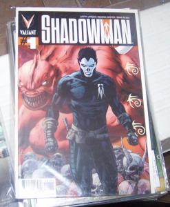 Shadowman #  1 2012  Valiant VARIANT COVER jack bonaface