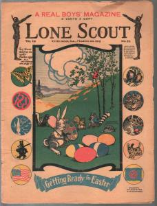 Lone Scout Vol. 7 #23 3/30/1918-A Real Boy's Magazine-3¢ cover price-VG