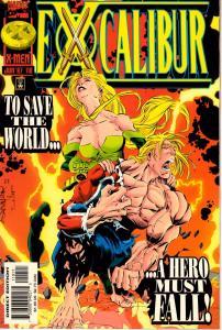 Lot Of 4 Excalibur Marvel Comic Book #110 111 112 113 J199
