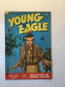 Young Eagle 2 Very Good+ Vg+ 4.5 Tear On Front Cover Fawcett