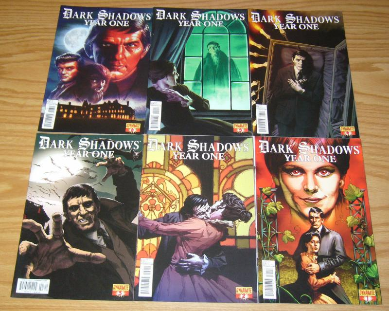Dark Shadows: Year One #1-6 VF/NM complete series - dynamite comics set lot