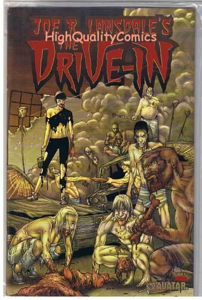 DRIVE-IN #4, VF+, Limited, Joe Lansdale, Horror, Avatar, 2003, Horror