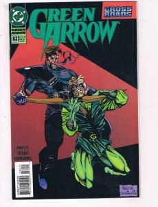 Green Arrow #82 VF DC Comics Arrow TV Crossroads Show Comic Book Dooley DE21
