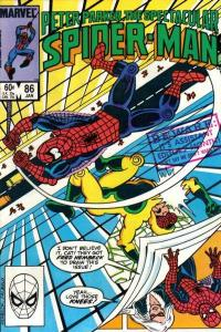 Spectacular Spider-Man (1976 series) #86, VF+ (Stock photo)