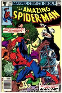 SPIDERMAN 207 F-VF Aug. 1980