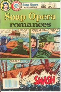 SOAP OPERA ROMANCES 4 VG-F Jan. 1983 COMICS BOOK